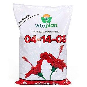 Adubo Para Floração 04-14-08 Vitaplan com Dosador Grátis - 1 Kg