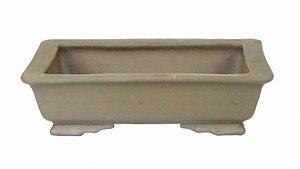 Vaso Retangular Terracota Jorge Ribas 20,5 x 16 x 5,5 cm