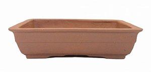 Vaso Retangular Terracota Jorge Ribas 24 x 18 x 6 cm