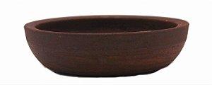 Vaso Redondo Terracota Onodera 16 X 4 cm