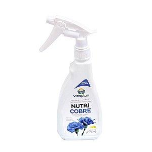 Fertilizante foliar NutriCobre Vitaplan - Pronto Uso - 500 ml