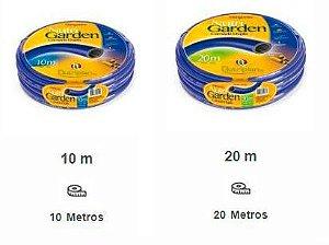 Mangueira Nutriplan Para Jardim e Quintal com Engate para Torneira e Bico - 10 e 20 Metros