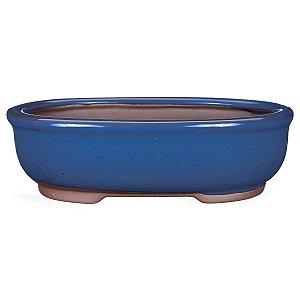 Vaso Oval Esmaltado Literato 18 X 12 X 5 cm