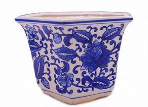 Vaso Octagonal Importado Esmaltado Para Bonsai de Kengai e Han Kengai