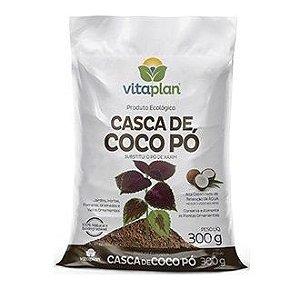 Casca de Coco em Pó Vitaplan 300 gramas