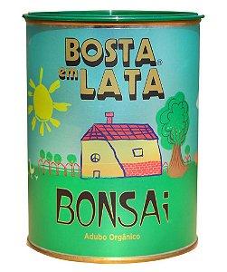 Adubo Orgânico Para Bonsai Bosta Em Lata 500g