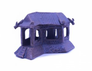Miniatura para Penjing e Bonsai Templo Japonês