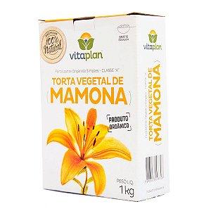 Torta Vegetal de Mamona Vitaplan 1 kg