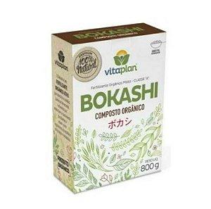 Fertilizante Orgânico Bokashi Vitaplan 800g