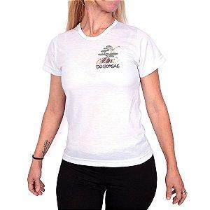 Camiseta Feminina Abc do Bonsai em Algodão - Sublimado