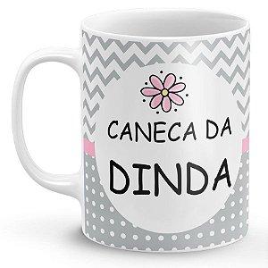 Caneca Dinda Amiga & Parceira (Modelo 2)