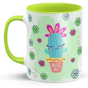 Caneca Personalizada Cacto Hug Me (Modelo 1)