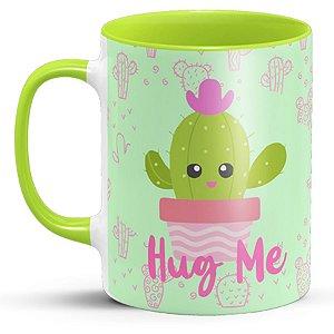 Caneca Personalizada Cacto Hug Me (Modelo 2)