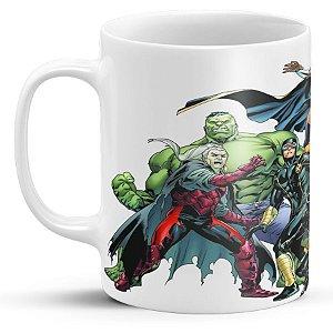 Caneca Personalizada Heróis da Marvel