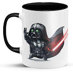 Caneca Personalizada Darth Vader e Kylo Ren Star Wars