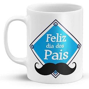 Caneca Personalizada Dia Dos Pais - Feliz Dia Dos Pais (Modelo 1)