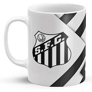 Caneca de Porcelana Santos Futebol Clube (Modelo 1)