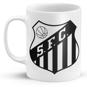 Caneca Personalizada Santos Futebol Clube (Modelo 2)