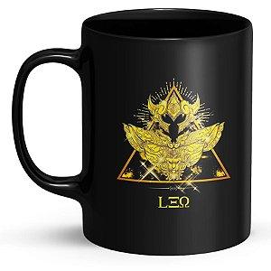 Caneca Personalizada Cavaleiros do Zodíaco Leão