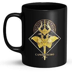 Caneca Personalizada Cavaleiros do Zodíaco Capricórnio