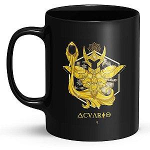 Caneca Personalizada Cavaleiros do Zodíaco Aquário