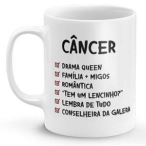 Caneca Personalizada Signo Câncer