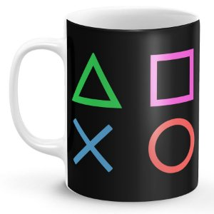 Caneca PlayStation (Modelo 2)