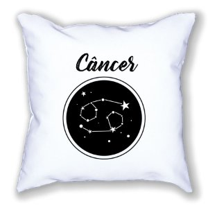 Almofada Personalizada Signo Câncer