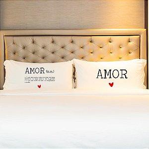 Kit Fronha Personalizada Significado Amor