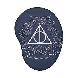 Mouse Pad Ergonômico Harry Potter Relíquias da Morte