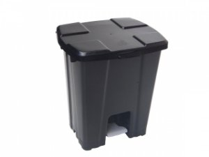 Cesto Plástico Quadrado com Pedal 30 Litros