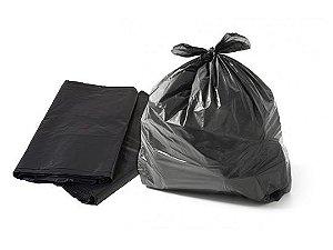Saco de Lixo Preto de 40 litros com 100 unidades