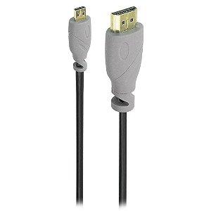 CABO VIDEO HDMI X MICRO HDMI 4K 3MT SC