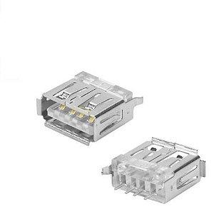 Conector Usb A-f Pci 180graus 4t+2mec Sc+b