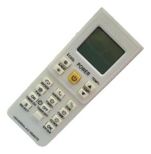 Controle Ar Cond Lcd Univ Aaax2 Lcd