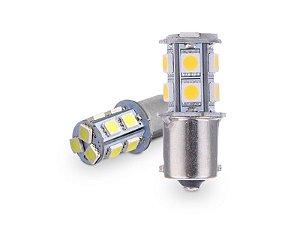 Lampada 12v 13led 5050 1polo Re Br(par)