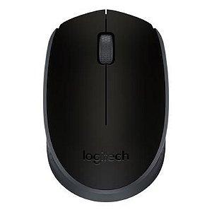 Mouse S/fio Optico Logitech Nano Preto