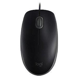 Mouse Usb Optico Logitech M100 Preto
