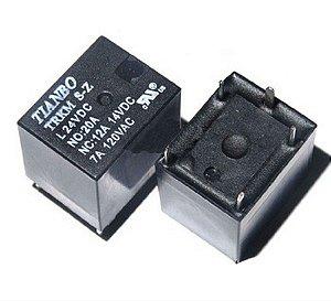 RELE 12VDC 20A 1CT 5T MINI 15X11X13MM