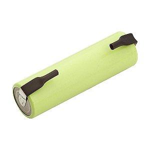 Bateria 1,2v Aax1 1300mah Nimh C/tag(un)