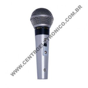 Microfone(g)mao Sm58 Prof Metal Pt Lotus