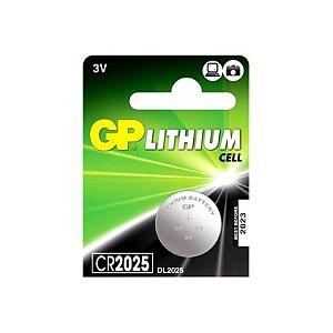 Bateria 3v Lithium Cr2025 Grenn/flex