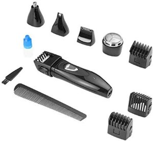 Maquina Aparador Barba Kit 9pc Multilas