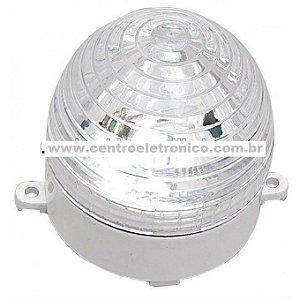 Lampada 110v 40w Cristal Br Strobo C/sup