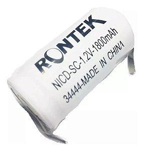 Bateria 1,2v Sc 1800ma Nicd 23x43 C/tag