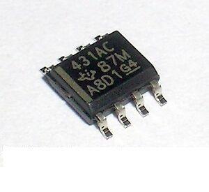 Circuito Integrado Tl431 Smd 8p 5x4mm