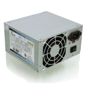Fonte Atx350 200w Real 20p+4 Kmx/knup