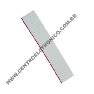 CABO(G)PLANO 20X28AWG CINZA 1,27M
