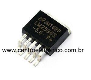 CIRCUITO INTEGRADO LM2596-S SMD 5T