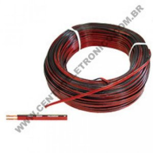 Cabo Pol Bicolor 2x0,75mm 18awg